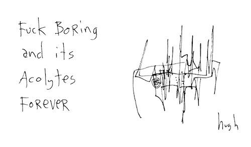 Fucking boring