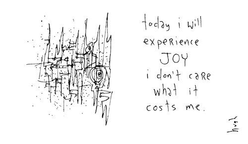 Eperience joy
