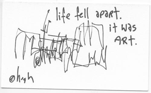 Life fell apart