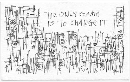 The only game is to change it