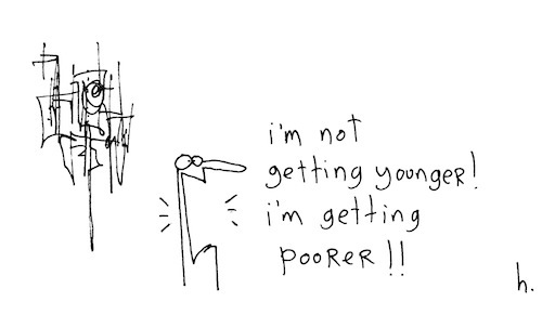 Getting poorer