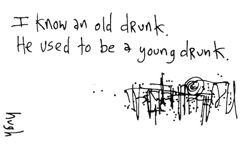 Old drunk