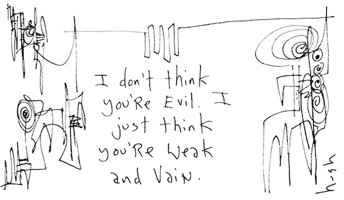 Weak and vain