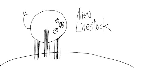 Alien livestock