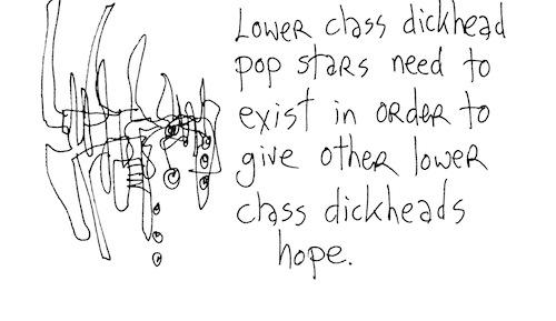 Lower class dickhead