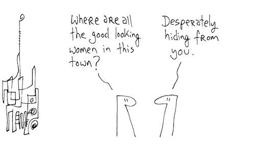 Desperately hiding