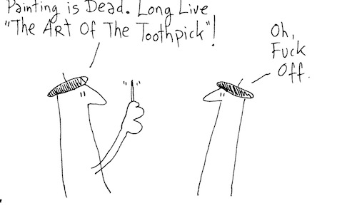 The art of the toothpick