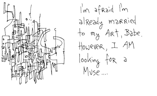 Looking for a muse