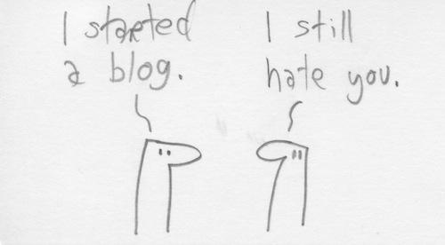 I started a blog