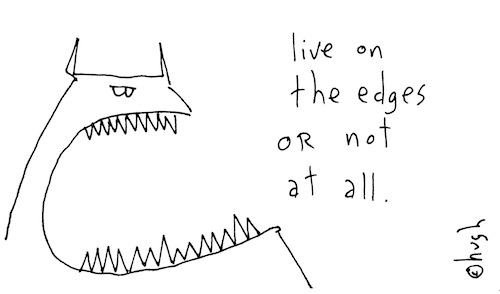 Live on the edges