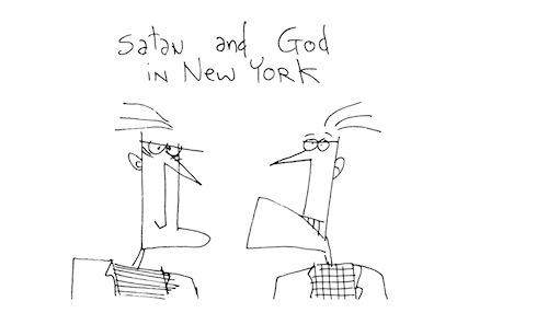Satan and God