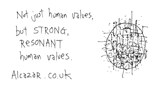 Strong resonant human values