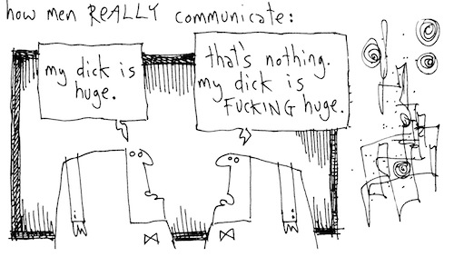 How men really communicate