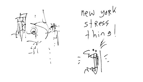 New York stress thing