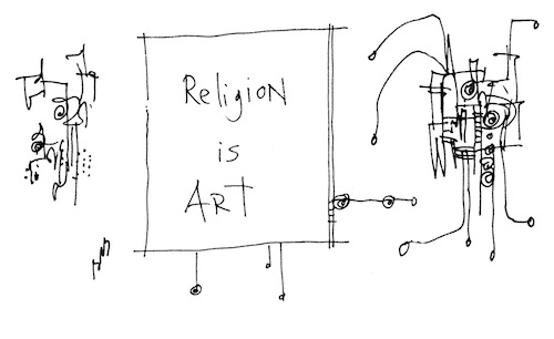 Religion is art