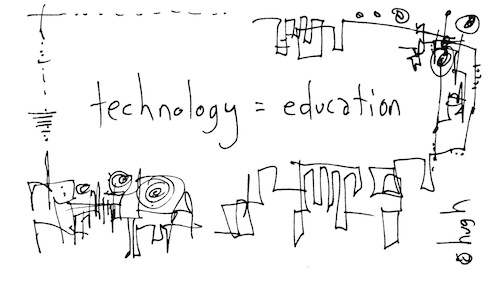 Technology = education