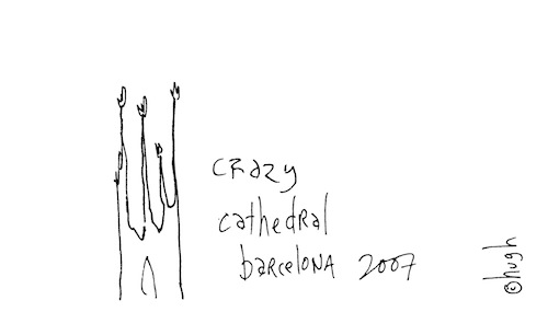 Crazy cathedral