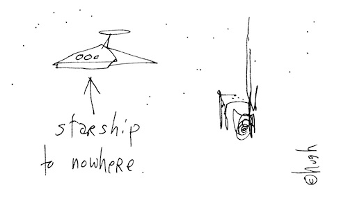 Starship to nowhere