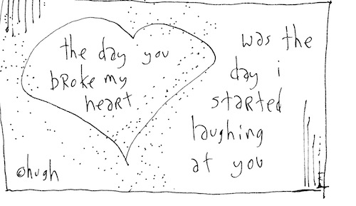 The day you broke my heart