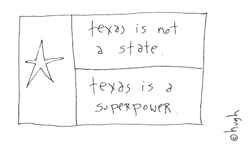 Texas is a superpower