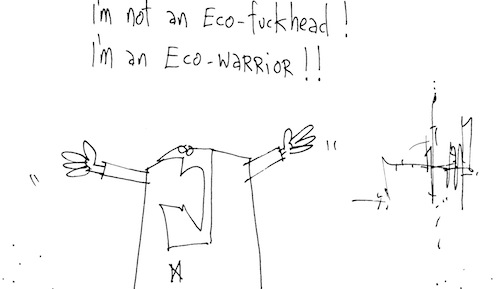 Eco-warrior