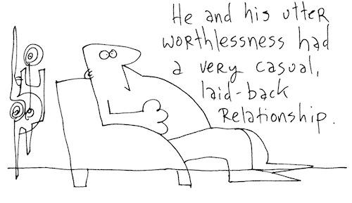 Utter worthlessness