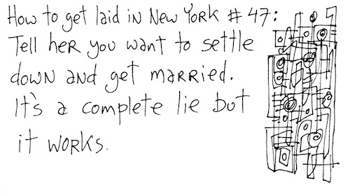 How to get laid in New York