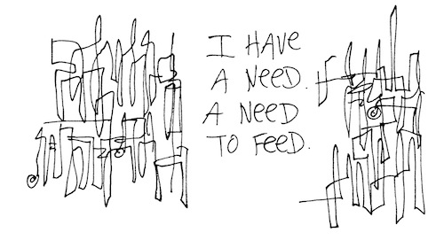A need to feed