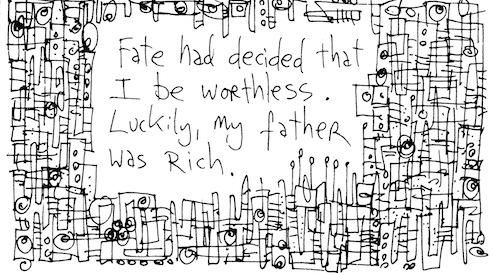 My father was rich