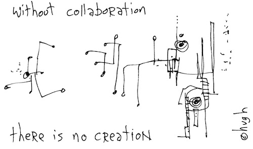 Without collaboration