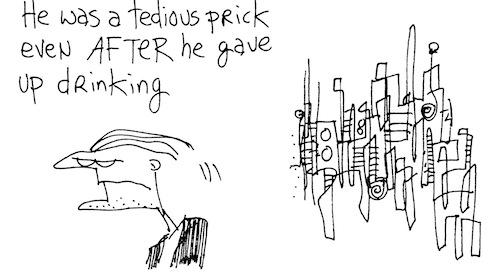 Tedious prick