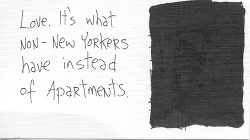 What non-New Yorkers have