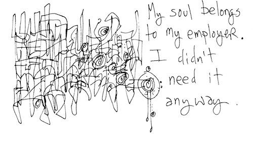 My sould belongs to my employer