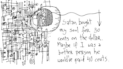 Satan bought my soul