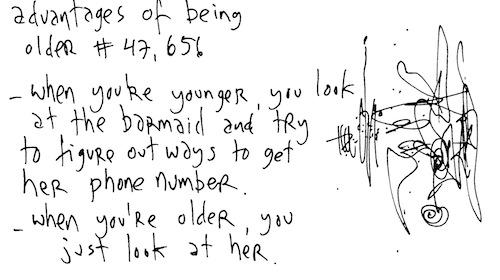 Being older