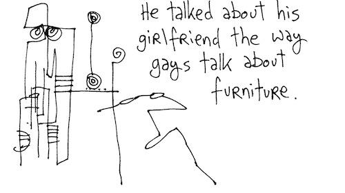 Talk about furniture