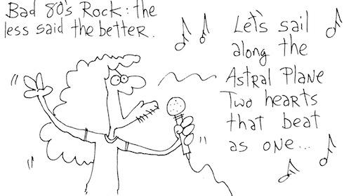 Bad 80's rock