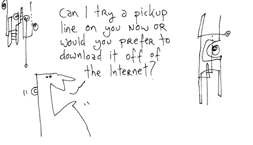 Pickup line
