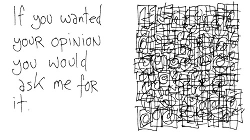 If you wanted your opinion
