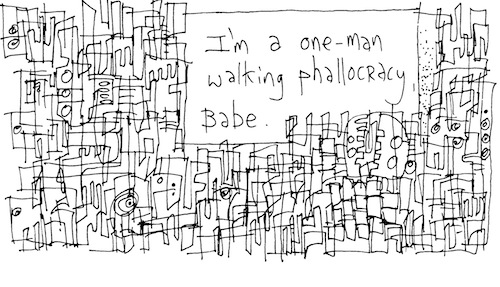 Walking phallocracy