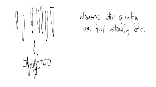 Dreams die quickly