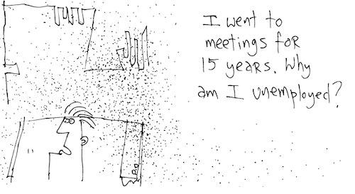 Went to meetings for 15 years