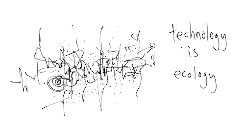 Technology is econlogy