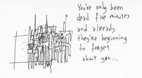 Dead five minutes