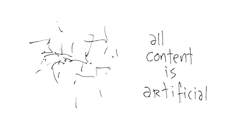 All content is artificial