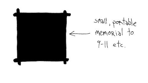 Portable memorial
