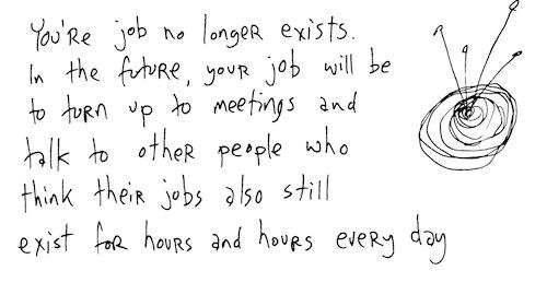 Your job no longer exists