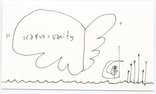 Icarus = vanity