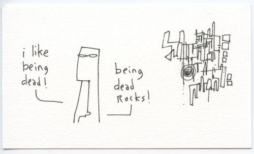 Being dead rocks