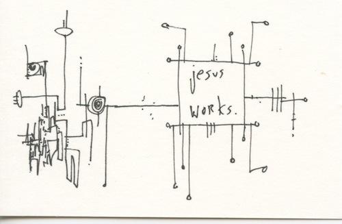 Jesus works